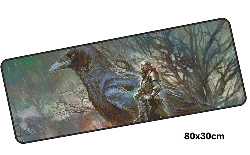 dark souls mousepad gamer 800x300X3MM gaming mouse pad large locked edge notebook pc accessories laptop padmouse ergonomic mat