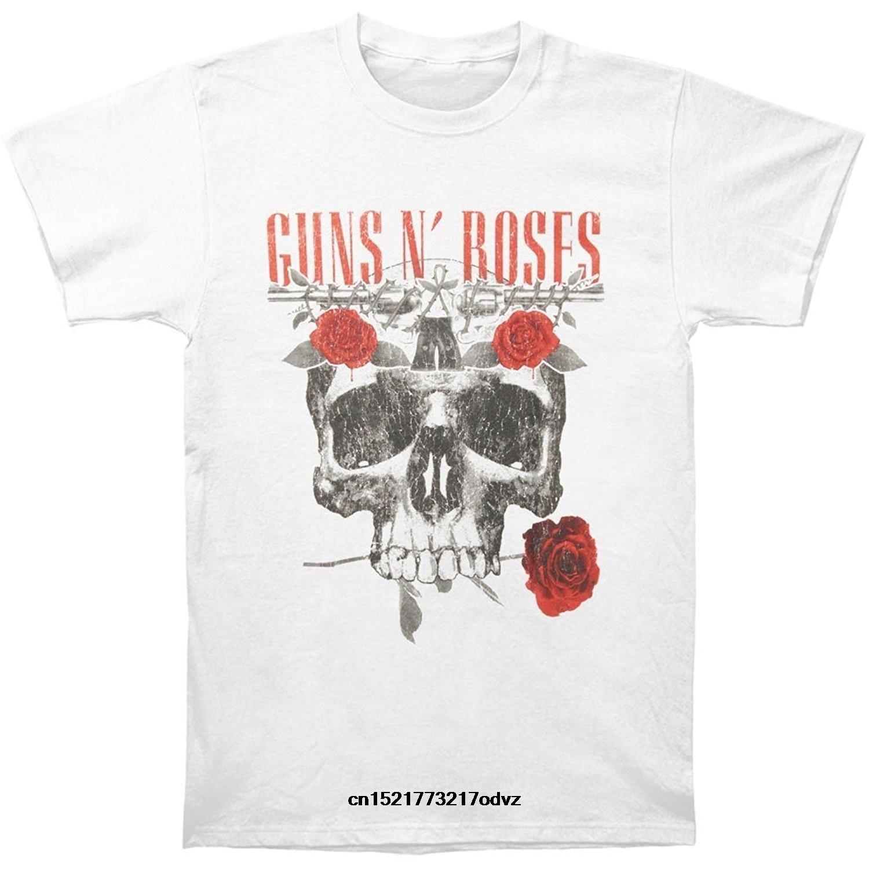 Detail Feedback Questions About Men T Shirt Guns N Roses Flower