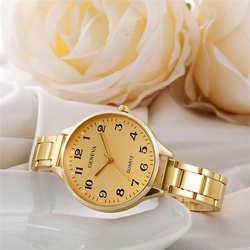 Для женщин Кристалл нержавеющая сталь Аналоговые кварцевые наручные часы Relogio Feminino для женщин часы Reloj Mujer Баян коль Saati Relog 20