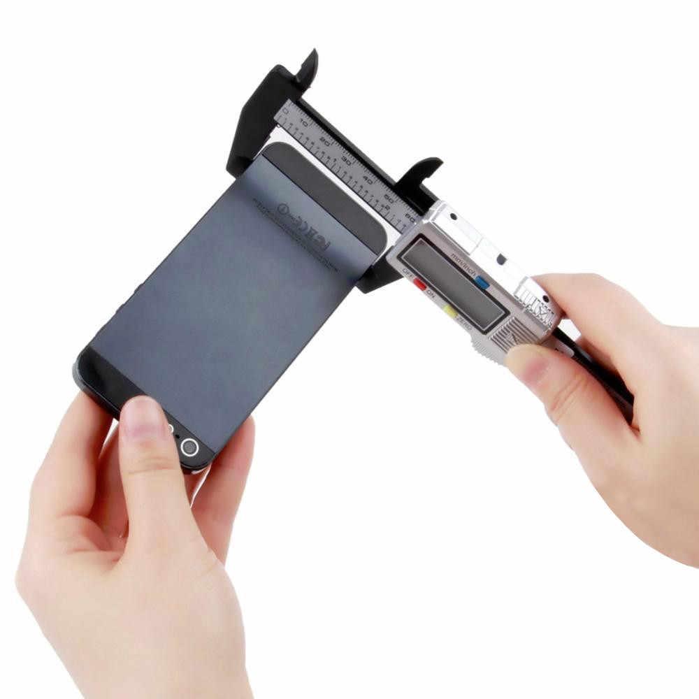 Bán 150 Mm 6 Inch Màn Hình LCD Kỹ Thuật Số Điện Tử Vernier Caliper Đo Micromet Dụng Cụ Làm Rau Cau Vernier Caliper Đo # ES