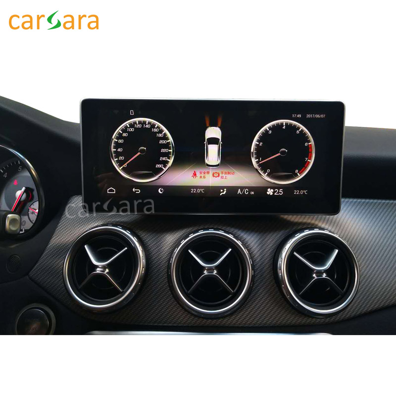 carsara 10 25 Android touch screen for Benz CLA GLA A Class W176 2013 2015 GPS