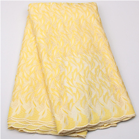 White High Quality For Women And Men Cotton Dry Lace Fabric Swiss Voile With Stone Swiss