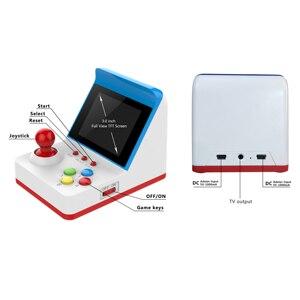 Image 4 - Mini consola de juegos Arcade de 8 bits, dos Gamepads gratuitos, 360 juegos FC