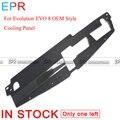 Для Evolution EVO 8 OEM стиль углеродное волокно охлаждающая панель для Mitsubishi глянцевое волокно бамперы аксессуары