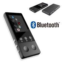 Portable Blutooth MP3 Player Mini Audio 8GB with Built in Speaker TF Card FM Radio APE Flac Caixa Se Som Soundbar Metal Materia