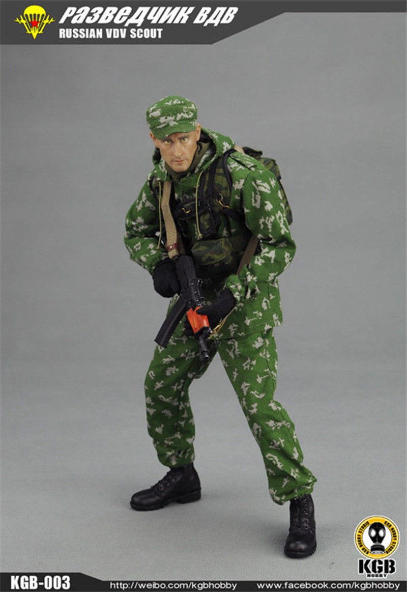 1/6 Scale Russian VDV Scout Soldier Limited Clothing Weapon Models Equipment Set For 12 Inches Action Figures 1 6 scale russian vdv scout soldier limited clothing weapon models equipment set for 12 inches action figures