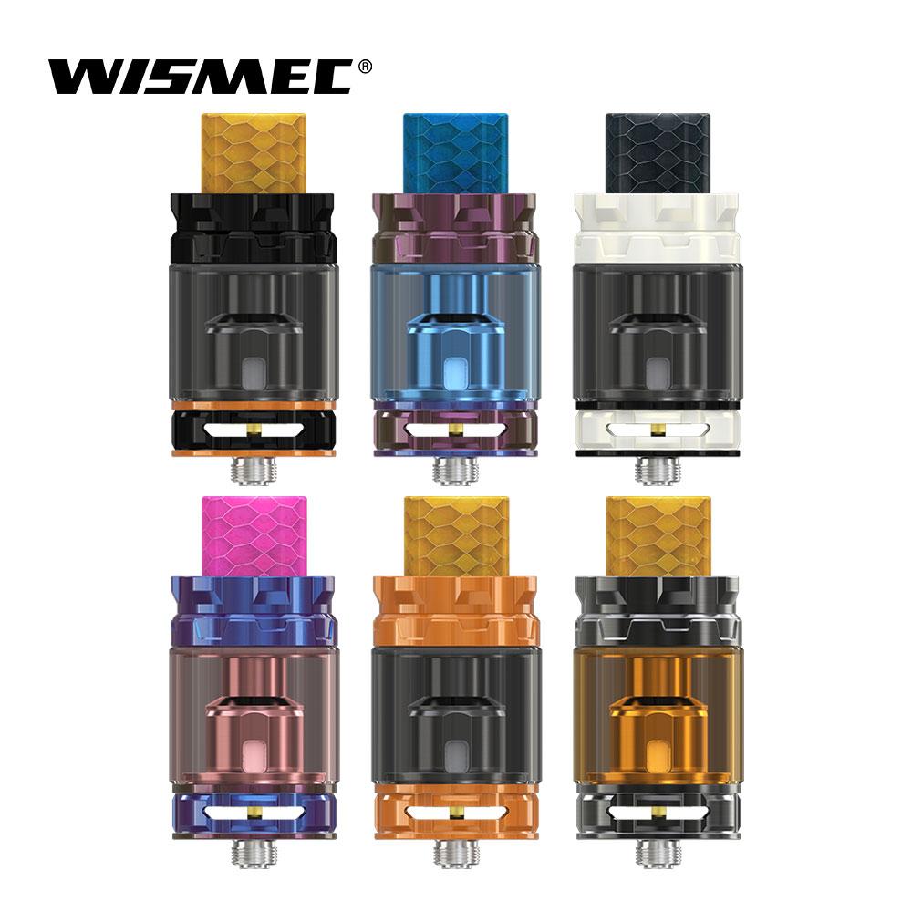 Original Wismec GNOMO Rei Tanque Subohm 5.8/ML com WM01 2 Única Bobina compatível com Reuleaux RX GEN3 0.4ohm dupla Mod