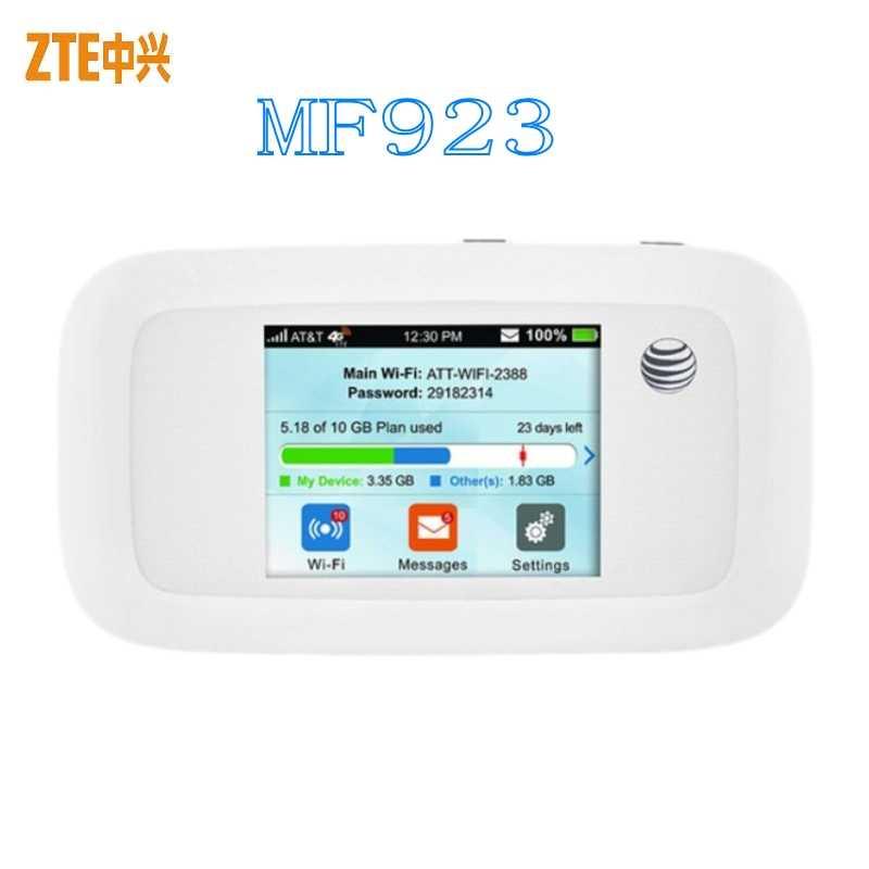 Unlocked 4g ZTE MF923 lte wifi Router Ondersteuning LTE 4G CPE LTE 700/850/AWS/ 1900/1700 MHz voor noord-amerika