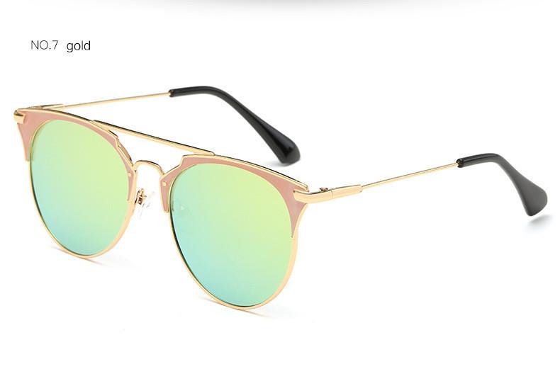 HTB1n2xKjGmWQ1JjSZPhq6xCJFXaL - Luxury Vintage Round Sunglasses Women Brand Designer 2018 Cat Eye Sunglasses Sun Glasses For Women Female Ladies Sunglass Mirror