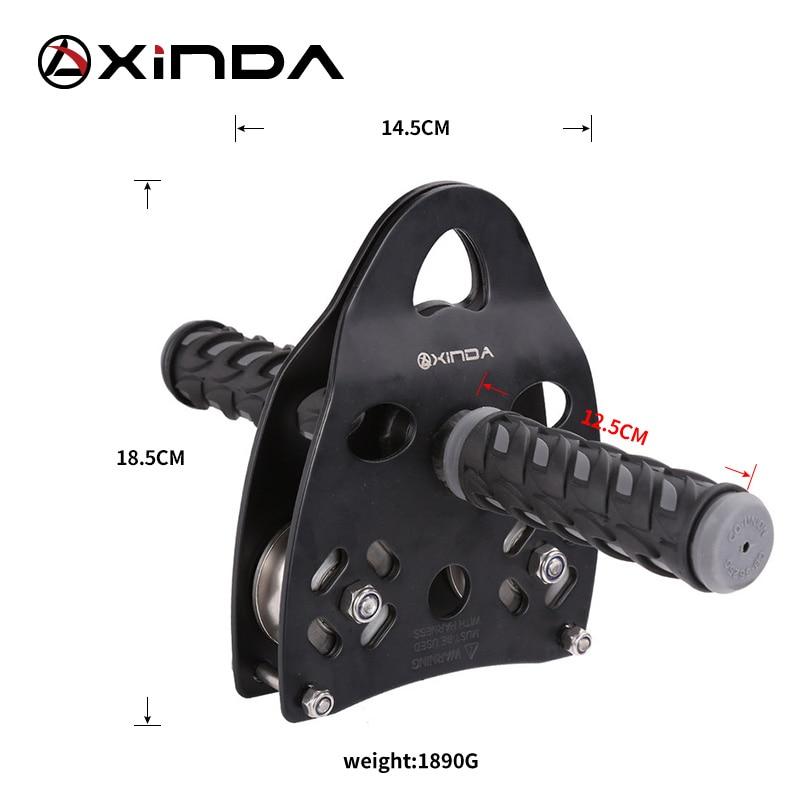 XINDA Professional Dəstək kasnağı Roller Ötürücü Xarici - Düşərgə və gəzinti - Fotoqrafiya 5