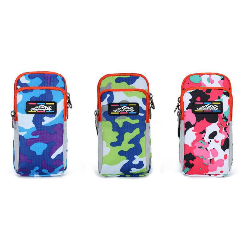 Outdoor Trend Light Camouflage Arm Pack Running Mobile Phone Arm Package Tactical Outdoor Sports Equipment Arm Bag