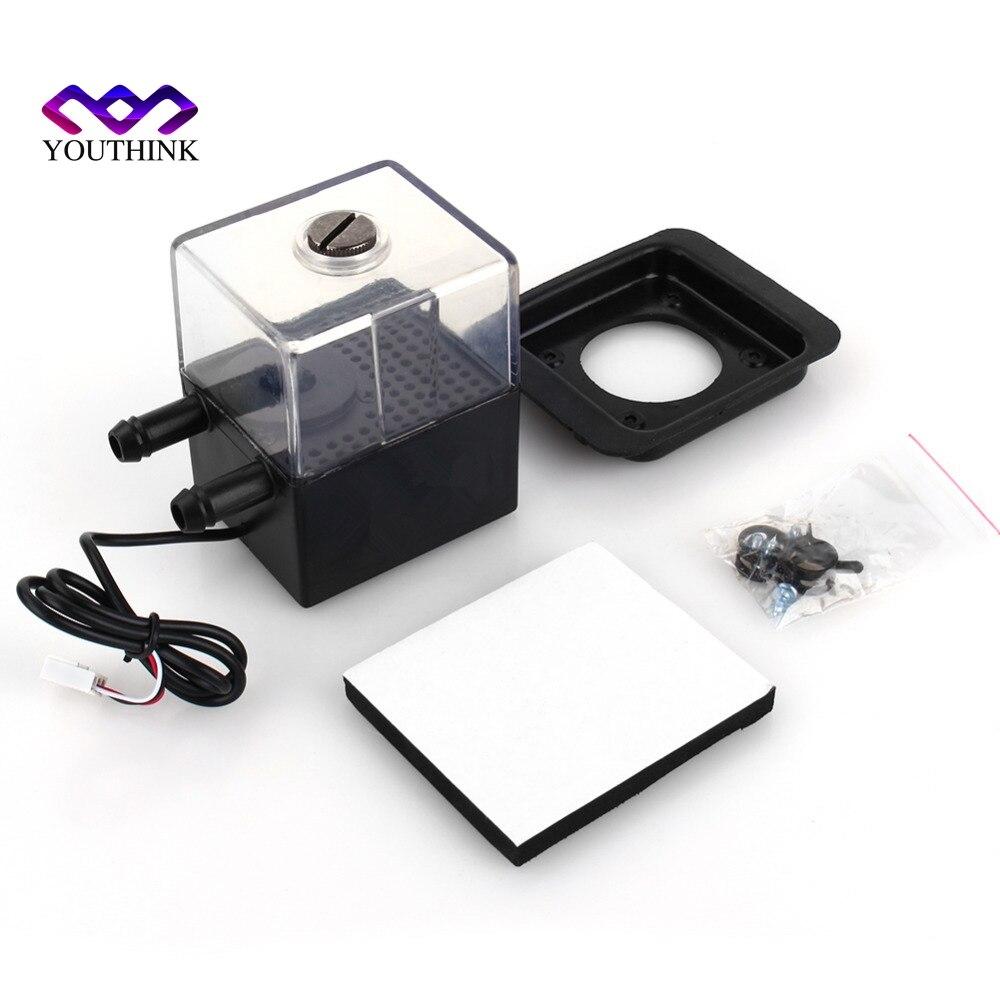 SC-300T 12V DC ultra-quiet Water pump&pump tank for pc CPU Liquid Cooling computer System светильник потолочный sonex mortia 142