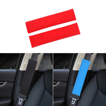 Car Safety Seatbelt Pad Shoulder Cover For Honda civic accord crv fit jazz city hornet hrv Subaru Forester Outback Legacy XV WRX image