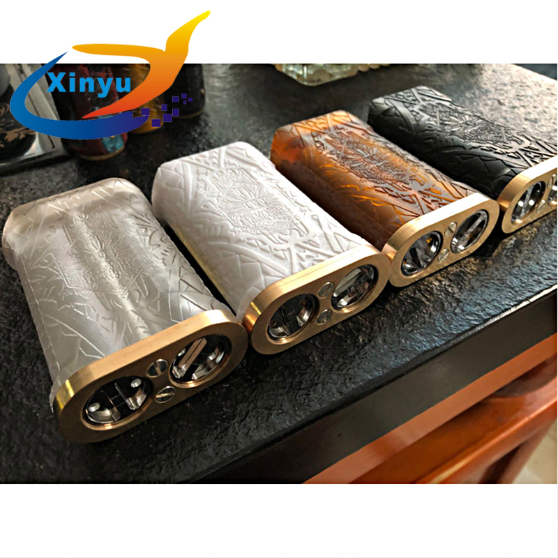 2018 New Arrived Kalasag V2 BOX Knight Kit Sob Mod Double 18650 Parallel Connection Mechanical Vaporizer Steam Mod Vs ROGUE Mod