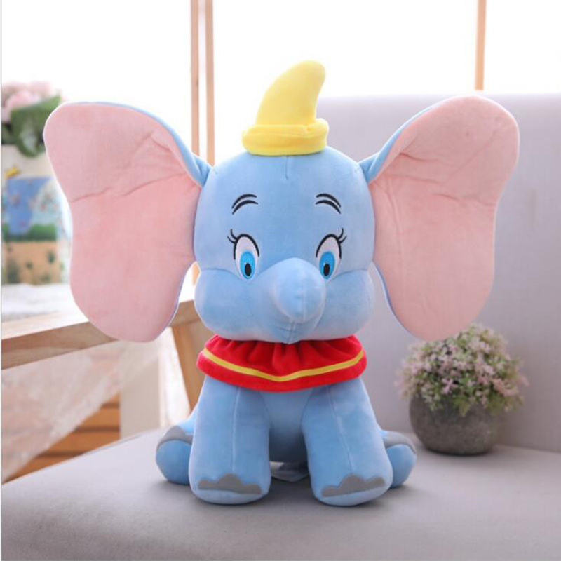 40cm Cute Dumbo Stuffed Animal Plush Toys Small Pendant Lovely Cartoon Elephant Doll Presents For Children