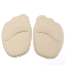 1pair Forefoot Insoles Shoes Sponge Pads High Heel Soft Insert Anti-Slip Foot Protection Pain Relief Women shoes insert
