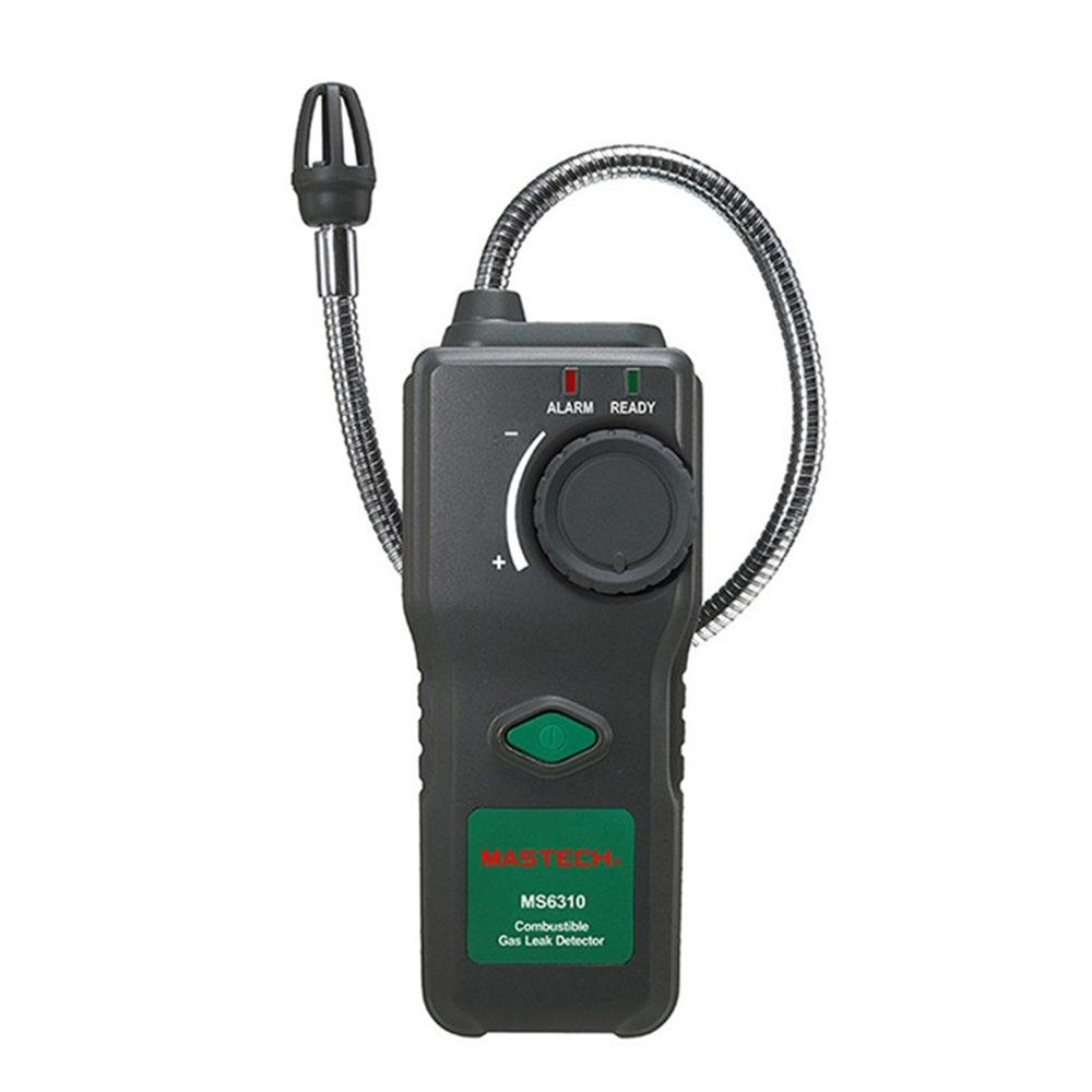 MASTECH MS6310 Portable Combustible Gas Freon Leak Detector Natural Gas Propane Gas Analyzer With Sound Light Alarm uyigao ua9800b brand new handheld portable automotive mini combustible gas detector gas leak location determine tester