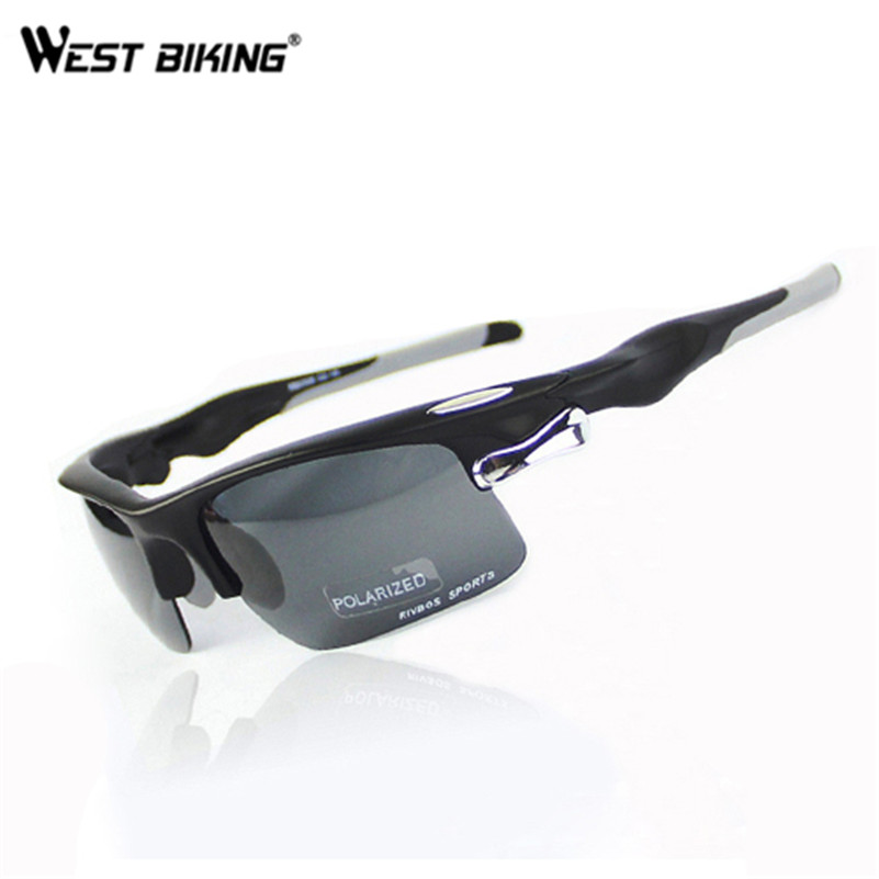 WEST BIKING Polarized UV Sunglasses Driving Sun Glasses Mirror Outdoor Sports Bicycle Sports Bicycle glasses Cycling Eyewear bicycle explosion proof glasses outdoor sun glasses yellow black