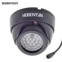 HOBOVISIN 48 LED Night Vision IR Infrared CCTV Illuminator Light For Surveillance CCTV Camera Black White