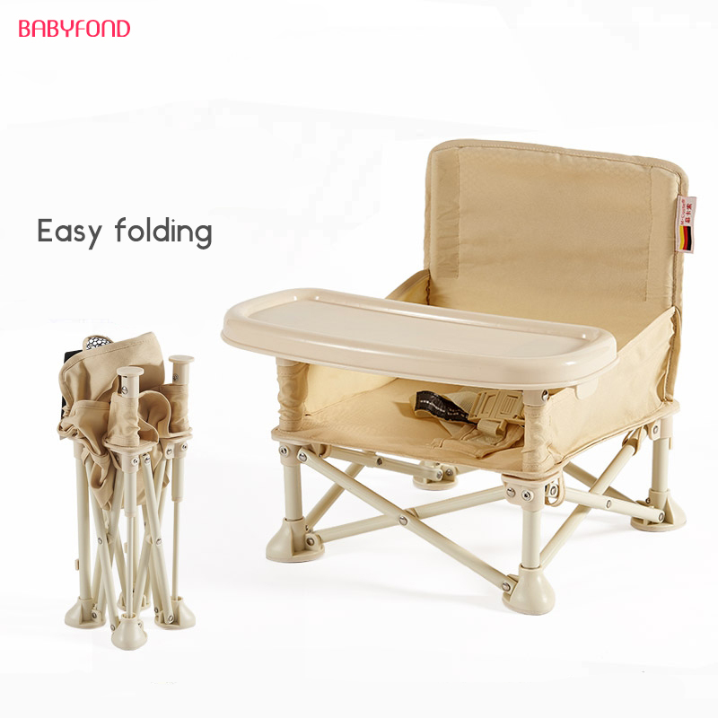 Portable Baby Chair Folding Chair Baby Eating Mini Household Contracted Out Portable Storage small computer chair the household contracted student chair desk chair is small 009