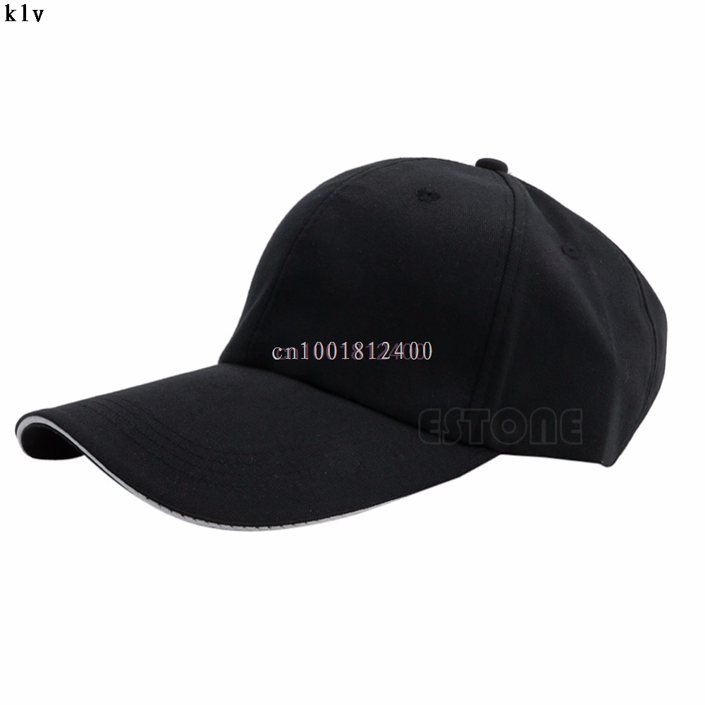 Unisex Men Women Baseball Cap Blank Plain Solid Sports Curved Visor Sun Golf Ball Hat 10 Colors