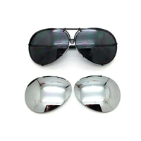2018 Replaceable Lense Sunglasses 8478 Sunglasses Men/Women Italian Eyewear Car Brand Designer Fashion Aviator Sun Glasses