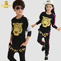 New spring autumn children clothing sets boy girl hiphop fashion sets suits kids brand cotton sports sets clothes kids suits