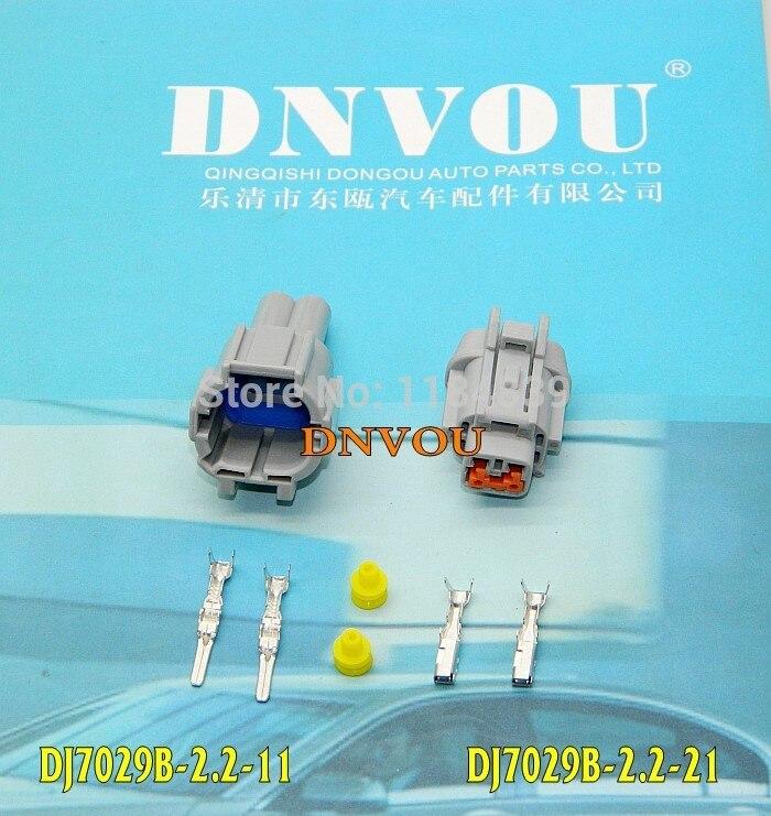 DJ7029B-2.2 car lamp plug connector Nissan waterproof plug 2 pin connectors [vk] 553602 1 50 pin champ latch plug screw connectors