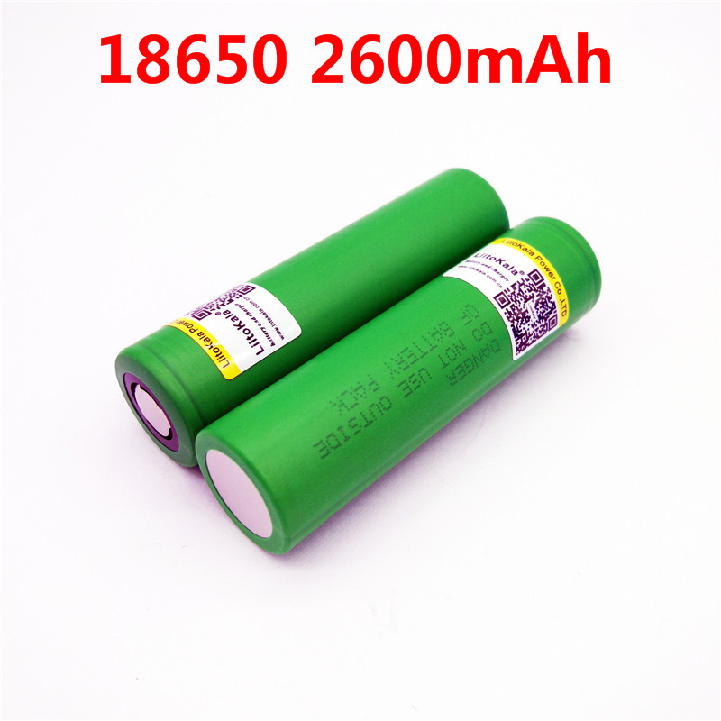 Liitokala For Sony 3.7V 18650 2600mAh US18650 VTC5 High drain 30A discharge for vap