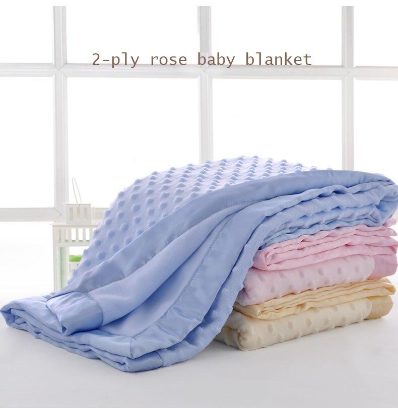 Super Suave Bebé Niño Niña Recién Nacido Manta Polar tirar 3 Diseños 75x100cm