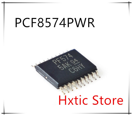 NEW 10PCS/LOT PCF8574PWR PCF8574PW PF574 PCF8574 20TSSOP  IC