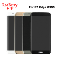 100 Original Super AMOLED 5 5 Screen For SAMSUNG Galaxy S7 Edge LCD Display G935 G935F
