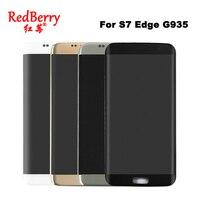 100 Original Super AMOLED 5 5 Screen For SAMSUNG Galaxy S7 Edge LCD Display G935 G935F