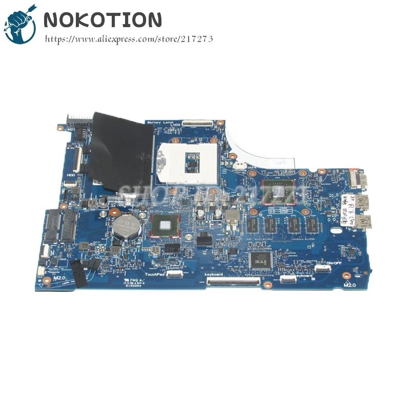 NOKOTION 749753-501 749753-001 6050A2548101-MB-A01 For Hp Envy 15 15T-J000 15T-J100 Laptop Motherboard GT840M graphics nokotion original 773370 601 773370 001 laptop motherboard for hp envy 17 j01 17 j hm87 840m 2gb graphics memory mainboard