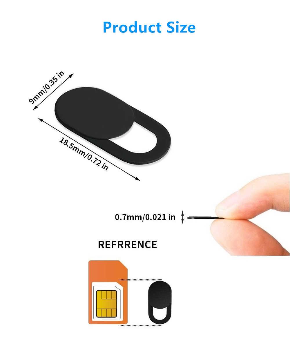 Webcam Cover Sluiter Voor Samsung Galaxy A5 A3 Alpha S9 Tablet Computer Telefoon Camera Lens Slider Blocker Shield Privacy Protector