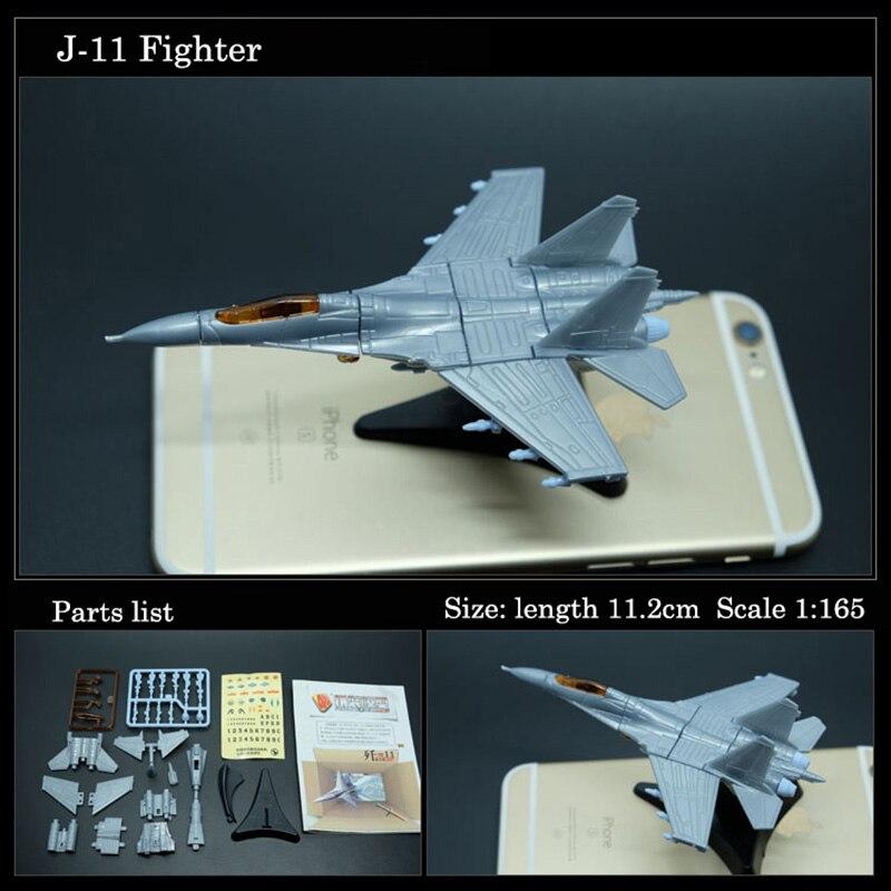 SU-33 SU-47 J-11 Z-9 Rdagunship Famosa Coleção Modelo de Avião