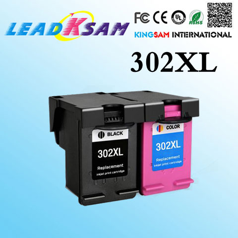 Ink-Cartridge 302XL Hp302 4524-Printer ENVY Compatible for 4522 4523 4520 4521 title=