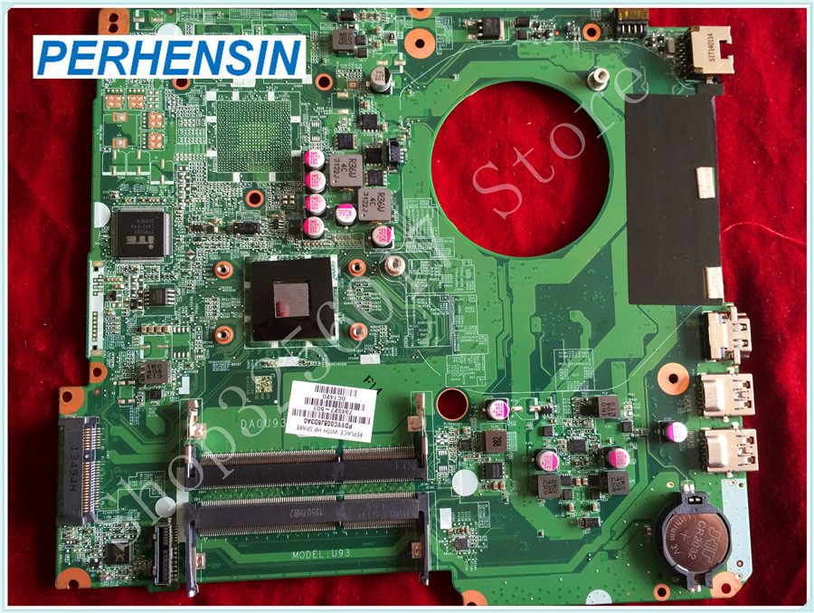For HP For Pavilion 15-N laptop MOTHERBOARD CPU A6-5200M DA0U93MB6D0 734827-501 integrated 100% tested good 744008 001 744008 601 744008 501 for hp laptop motherboard 640 g1 650 g1 motherboard 100% tested 60 days warranty