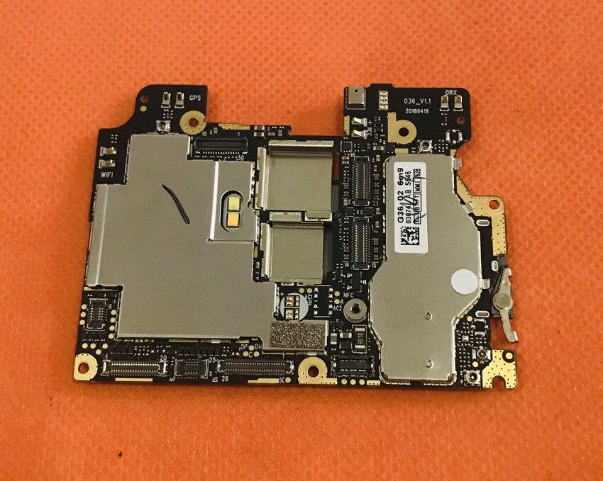 Original mainboard 6G RAM+64G ROM Motherboard for Umidigi Z2 Helio P23 Octa Core Free shipping