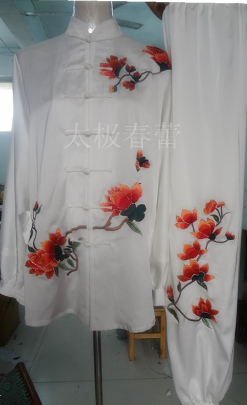 Customize Chinese Tai chi uniform font b clothing b font Martial arts suit exercise taiji outfit