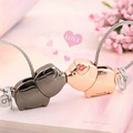 Milesi - New 2017 Brand Kiss Pig Love Me Key chain Keychain Key Ring for Women Novelty souvenir pendant Couple Lovers Trinket