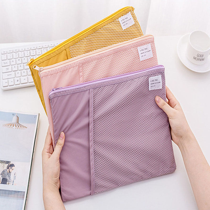 Package Document-Folder Pocket-Bill Office New For A4 Paper Portable Pouch