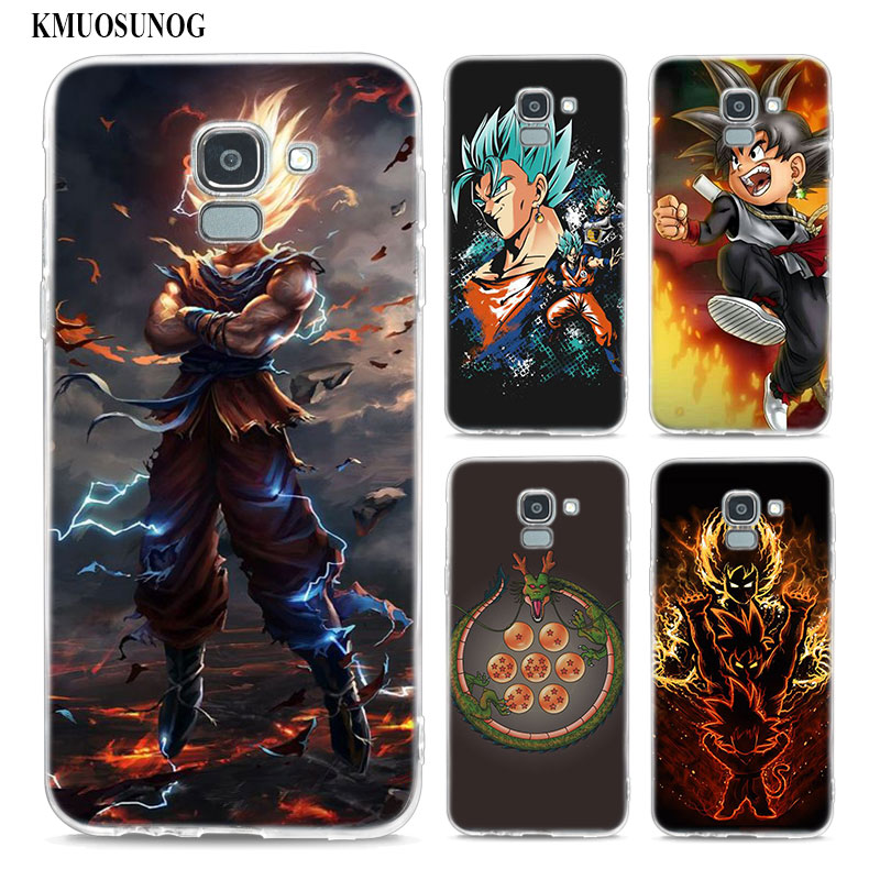 Fitted Cases Imported From Abroad Binyeae Dragon Ball Z Goku Dragonball Style Transparent Soft Tpu Phone Cases For For Samsung J3 J4 J5 J7 2016 2017 2018 Prime Beautiful And Charming