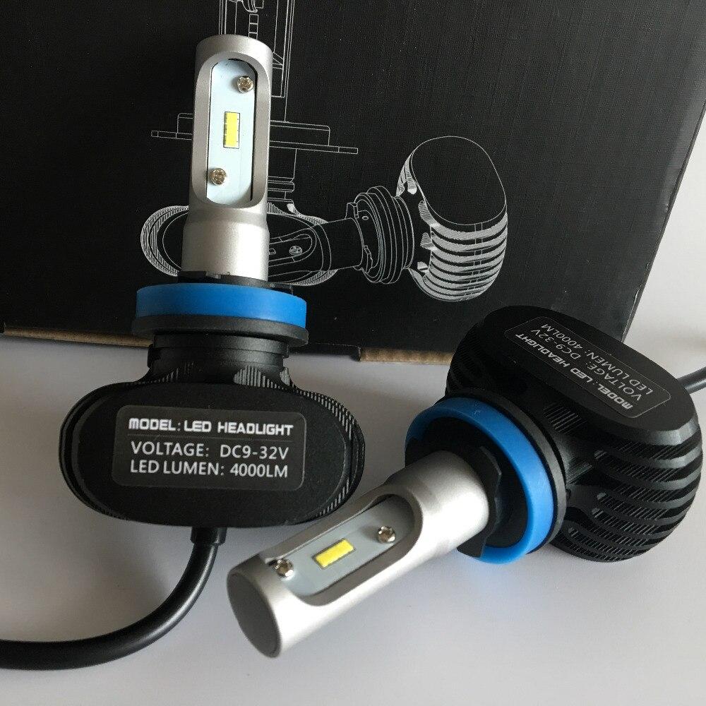 50W 8000LM Auto Light 6500K Blanco H8 H9 H11 Bombilla de faro LED - Luces del coche - foto 6