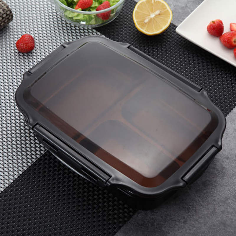 ONEUP Lunch box Stainless steel Portable Picnic office School Food containers With Compartments Microwave Bento Box