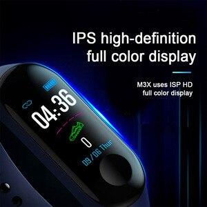 Image 5 - ! ACCEZZ חכם להקת צמיד לxiaomi לחץ דם מדידה צבעוני מסך M3 ספורט צמיד כושר Tracker עבור אנדרואיד