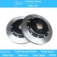Jekit автомобиль тормоз ротора 330*28 мм диск с крышки центра для JK9200 тормозной суппорт для bmw e60 525d 2008 спереди обод колеса 17''