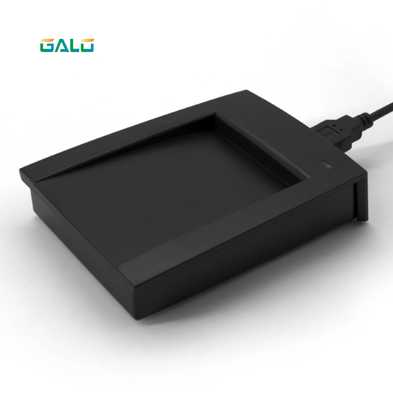 13.56Mhz or 125Khz RFID Reader EM4100 USB Proximity Sensor Smart Card Reader 13 56mhz black usb proximity sensor smart rfid nfc card reader no need driver
