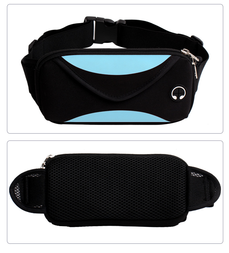 85c6e3c780bb US $3.59 |Unisex waist pack men waterproof fanny pack women belt bum bag  waist bag male phone wallet Pouch Bags-in Waist Packs from Luggage & Bags  on ...