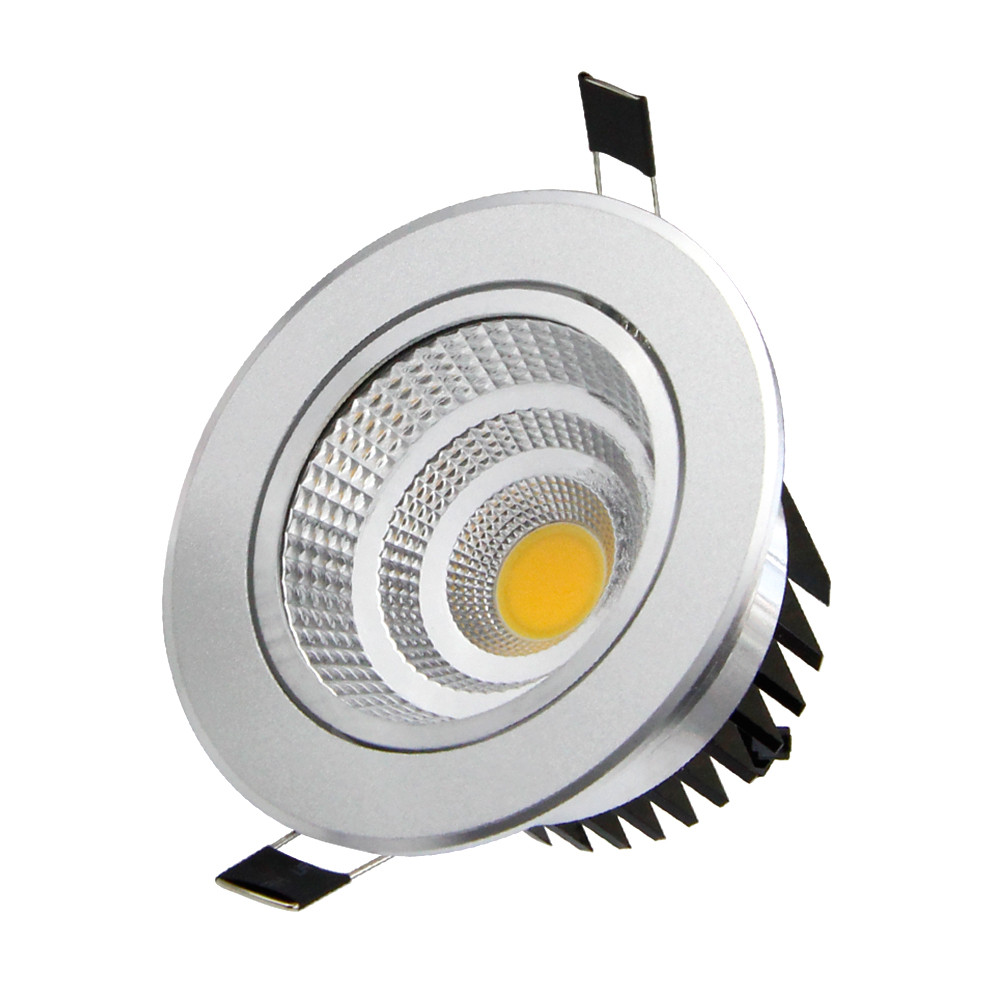 Dimmable  Led downlight light COB Ceiling Spot Light Lamp 3w 6w 9w 12w 18w AC85-265V ceiling recessed Lights Indoor Lighting